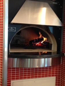 Wood Fired Pizza at Lake Frederick